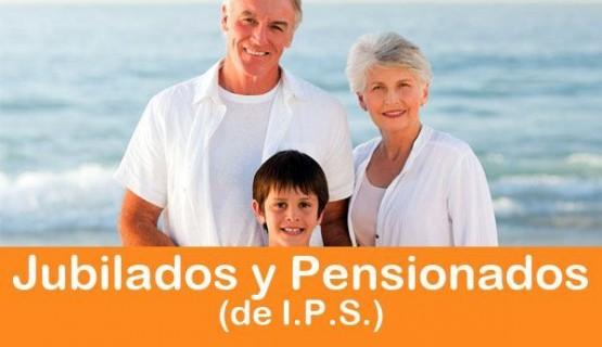 Jubilados y Pensionados (IPS)