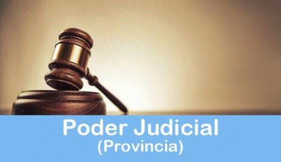 Poder Judicial Provincia